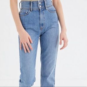 NWOT BDG- Urban Outfitter's Mom Jeans, SIZE: 24